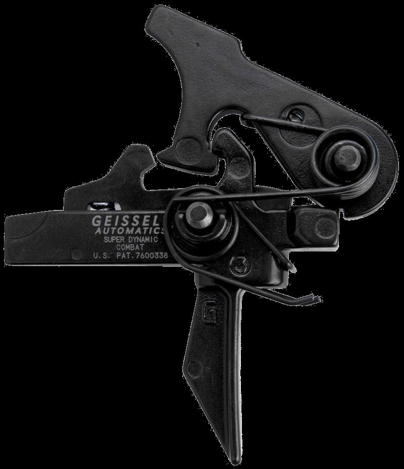 Geissele Automatics Super Dynamic Combat SDC Trigger for Tactical AR Carbines SBRs 1 Geissele Automatics Super Dynamic Triggers with Flat Trigger Bow for Combat and Competition Applications: Meet the Geissele Super Dynamic Combat (SD C) Trigger, Super Dynamic Enhanced (SD E) Trigger and Super Dynamic 3 Gun (SD 3G) Trigger for Tactical AR 15 Carbines/Rifles and SBRs/Sub Carbines