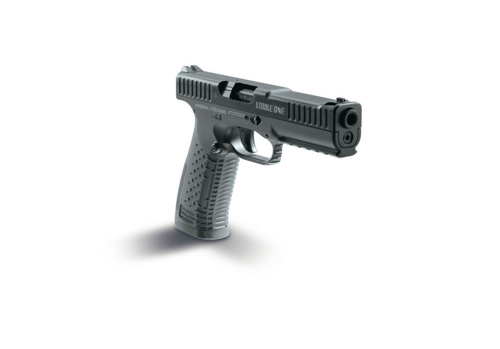 "Arsenal Firearms Strike One Pistol System (""Strizh Pistol"") Striker-Fired Polymer-Frame 9mm Parabellum/9x19mm NATO Combat/Tactical Pistol with Ultra-Low Bore Axis: Meet the New 21st-Century Russian Military Pistol  that's Coming to America for Civilian Tactical Shooters! (Unique Barrel Locking System Details!)"