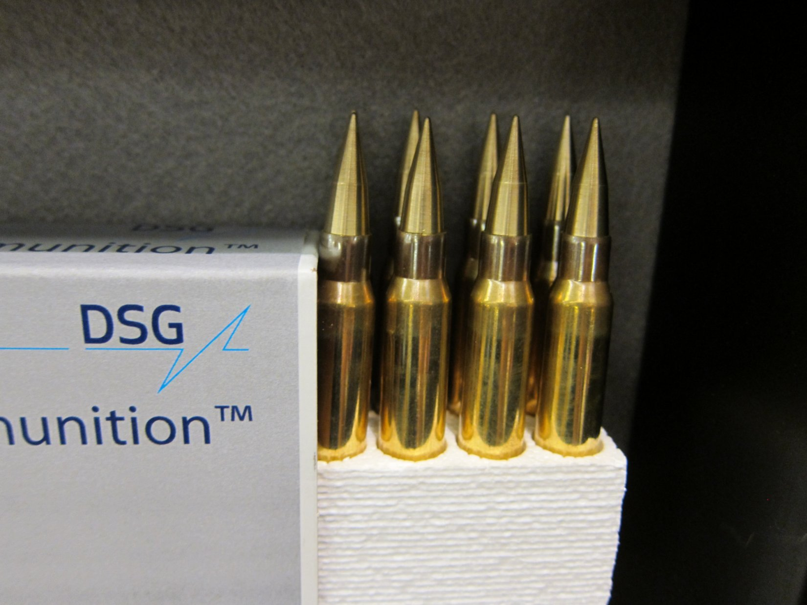 DSG Technology PNW Arms Super Sniper Ammunition SSA formerly Enhanced Performance Sniper EPR Super Sniper Tactical SST and Super Sniper Armor Piercing SSAP Rounds NDIA Joint Armaments 2012 DefenseReview.com DR 5 DSG Technology/PNW Arms Super Sniper Ammunition (SSA) Enhanced Range Rifle Ammo Being Made in the USA for Military Special Operations Forces (SOF) Long Range Interdiction/Sniping and Close Quarters Battle/Close Quarters Combat (CQB/CQC) Applications: Solid Copper Super Sniper Tactical (SST) Rounds/Bullets and Tungsten Tipped Super Sniper Armor Piercing/Armor Penatrating (SSAP) AP Rounds/Bullets in All Military NATO Calibers! (Video!)