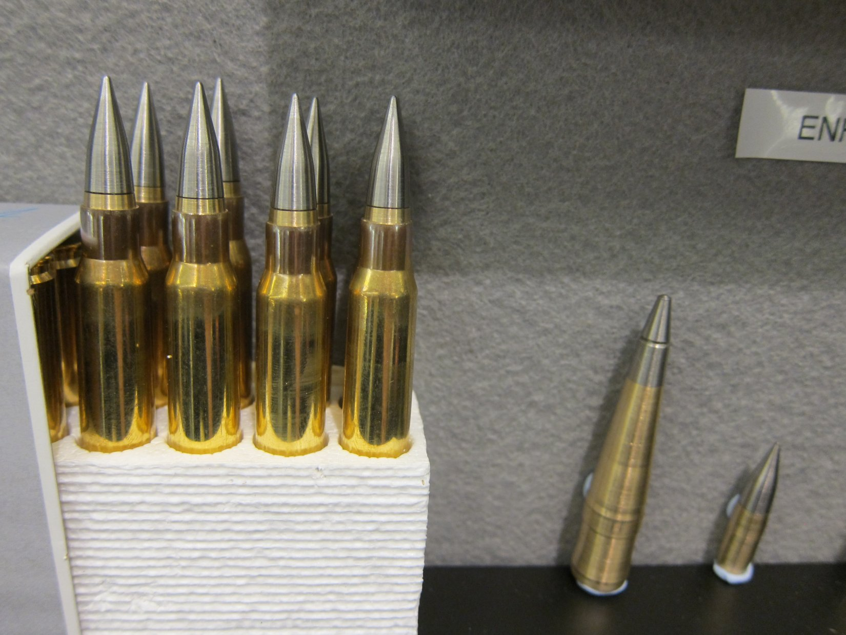 DSG Technology PNW Arms Super Sniper Ammunition SSA formerly Enhanced Performance Sniper EPR Super Sniper Tactical SST and Super Sniper Armor Piercing SSAP Rounds NDIA Joint Armaments 2012 DefenseReview.com DR 6 DSG Technology/PNW Arms Super Sniper Ammunition (SSA) Enhanced Range Rifle Ammo Being Made in the USA for Military Special Operations Forces (SOF) Long Range Interdiction/Sniping and Close Quarters Battle/Close Quarters Combat (CQB/CQC) Applications: Solid Copper Super Sniper Tactical (SST) Rounds/Bullets and Tungsten Tipped Super Sniper Armor Piercing/Armor Penatrating (SSAP) AP Rounds/Bullets in All Military NATO Calibers! (Video!)