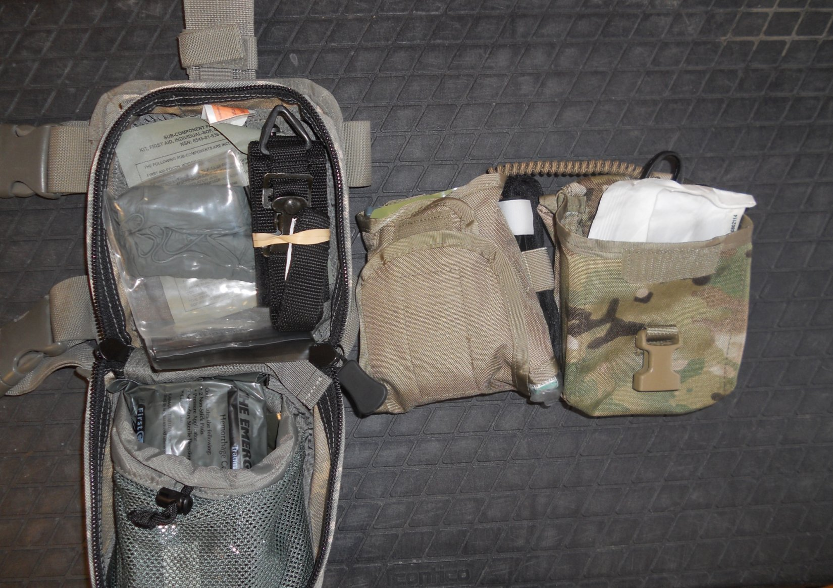 IFAK Individual First Aid Kit Tactical Medicine Combat Medicine Jeff Gurwitch Pic C Individual First Aid Kit (IFAK): Tactical Medicine/Combat Medicine Kit for Military Infantry, Special Operations Forces (SOF) and Civilian Tactical Shooters!
