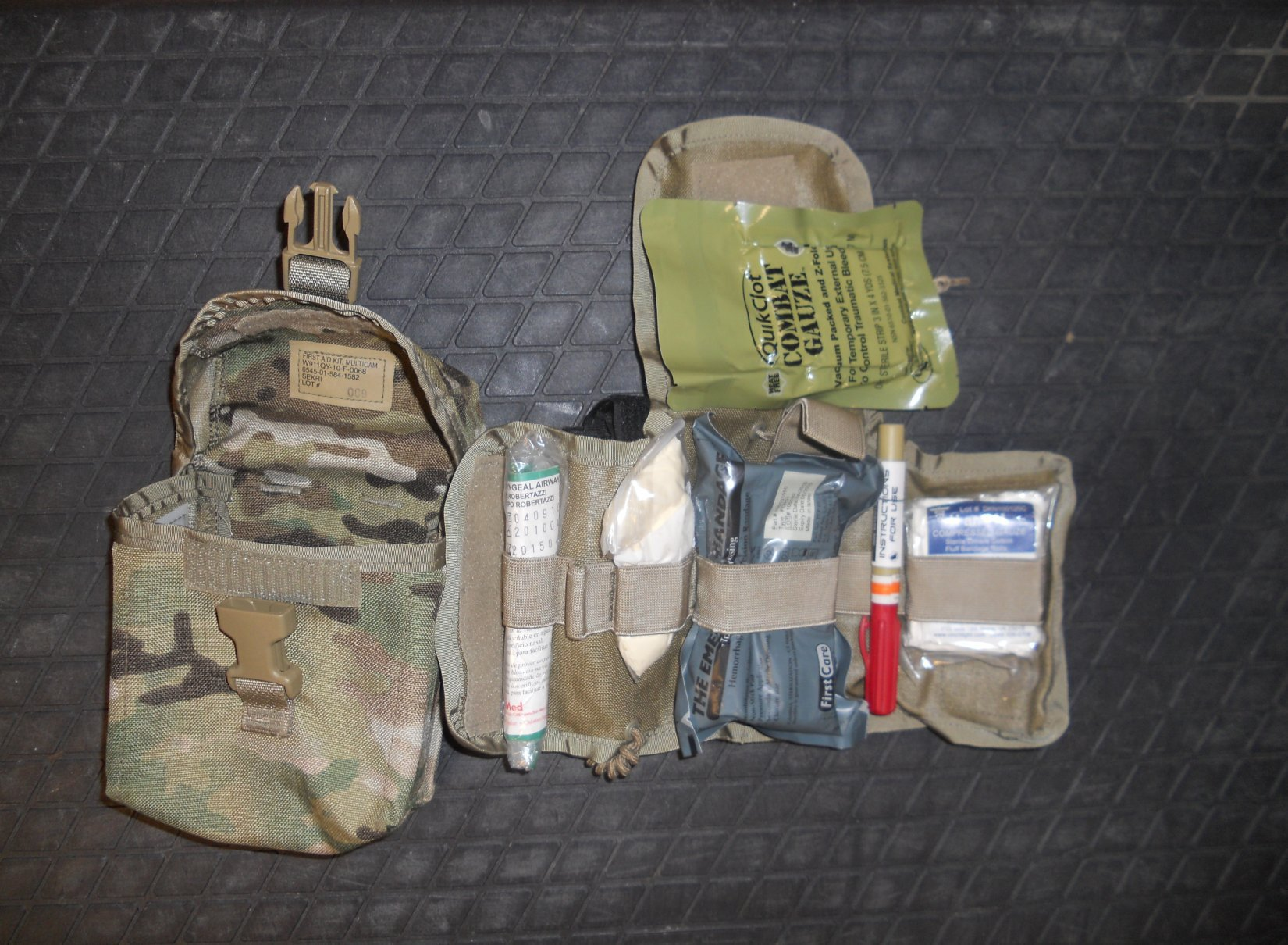 IFAK Individual First Aid Kit Tactical Medicine Combat Medicine Jeff Gurwitch Pic D Individual First Aid Kit (IFAK): Tactical Medicine/Combat Medicine Kit for Military Infantry, Special Operations Forces (SOF) and Civilian Tactical Shooters!