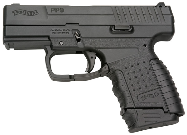 Walther PPS (Police Pistol Slim) Single-Stack, Striker-Fired 9mm Compact/Sub-Compact Pistol for Concealed Carry (CCW) Applications and Covert Missions/Operations