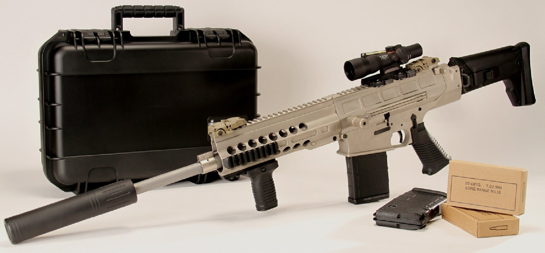 DRD Tactical Paratus Rifle 3 DRD Tactical Paratus Rifle: Revolutionary 7.62mm NATO/.308 Win. Quick Breakdown/Takedown Tactical AR Rifle/Carbine for Clandestine Break Down Semi Automatic Rifle (CSR) and Compact Semi Automatic Sniper System (CSASS) (Video!)