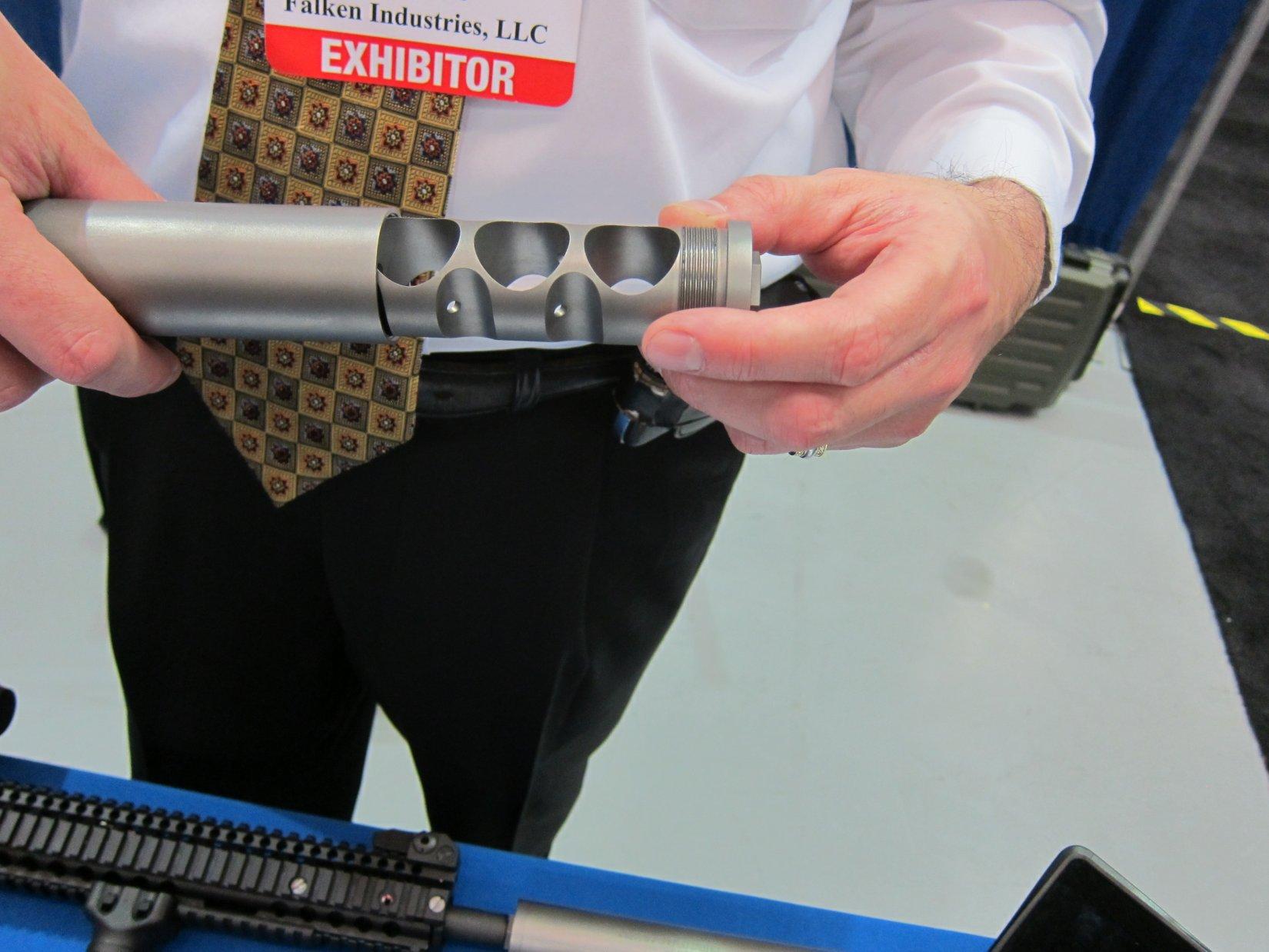 Falken Industries M-Series Lightweight Titanium Silencers