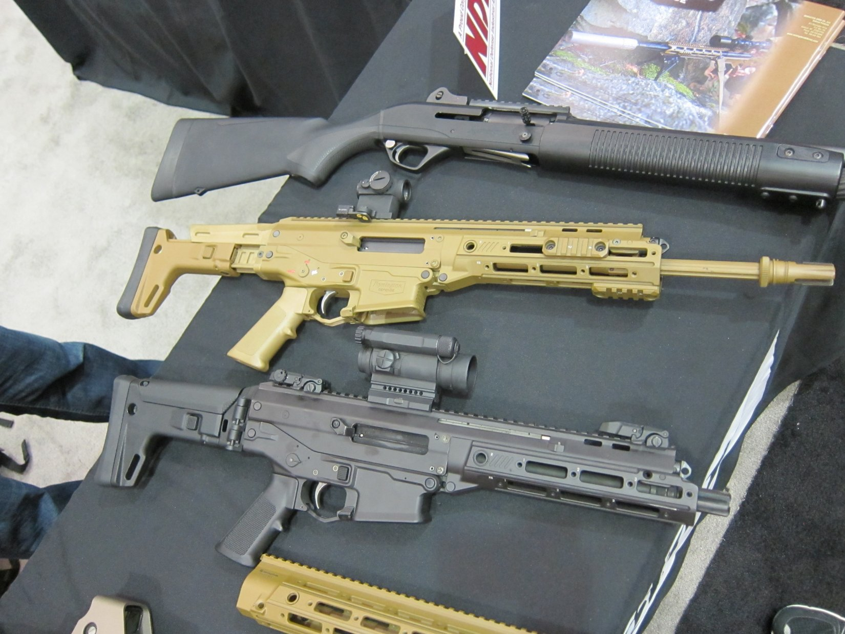 Remington ACR PDW SBR Adaptive Combat Rifle Personal Defense Weapon Short Barreled Rifle and Remington ACR Individual Carbine IC Robby Johnson NDIA Joint Armaments 2012 DefenseReview.com DR 1 Remington ACR PDW SBR (Adaptive Combat Rifle Personal Defense Weapon Short Barreled Rifle) and Remington Individual Carbine (IC) Candidate: Remington Defense Assault Rifles/Carbines/PDWs at NDIA Joint Armaments Conference 2012 (Video!)