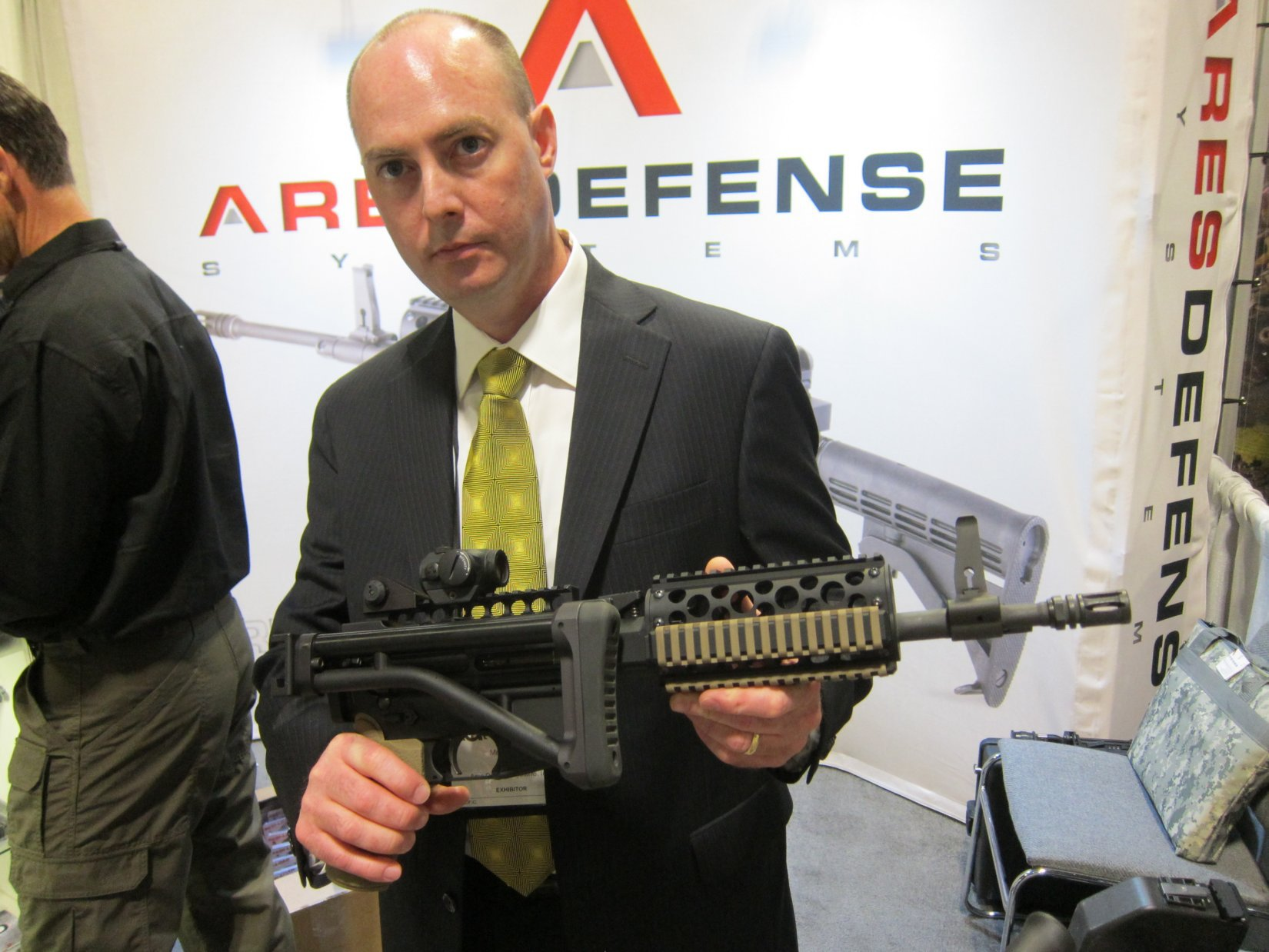 ARES Defense Systems ARES-16 MCR/AMG-2 (Mission-Configurable Rifle/Assault Machine Gun-2) Dual-Feed AR Machine Gun and ARES-16 MCR/AMG Mag-Fed SBR/Sub-Carbine for Military Special Operations Forces (SOF), Law Enforcement and Civilian Tactical Shooters (Video!)