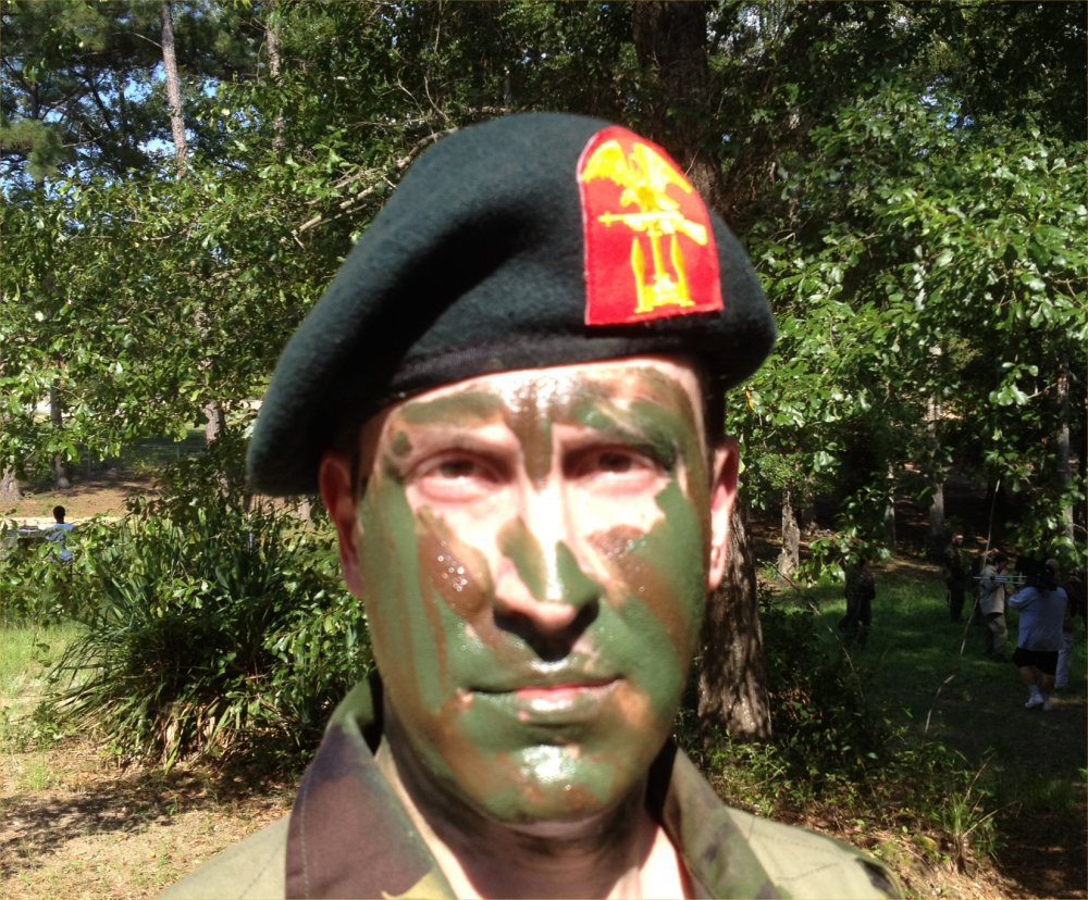 Blast-Resistant/Heat-Resistant Camouflage Face Paint Developed for U.S. Military Infantry Warfighters: Will the New Camo Face Paint Incorporate Thermal/IR (Infrared) Camouflage Aspect?