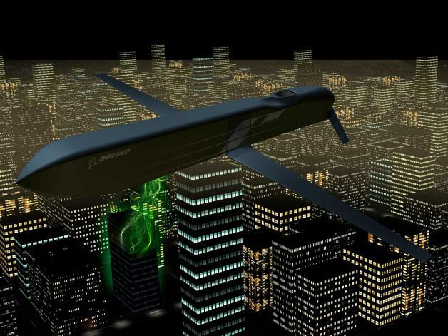 Boeing CHAMP (Counter-electronics High-powered Advanced Missile) EMP/Microwave Missile Destroys Electronic Targets, not People