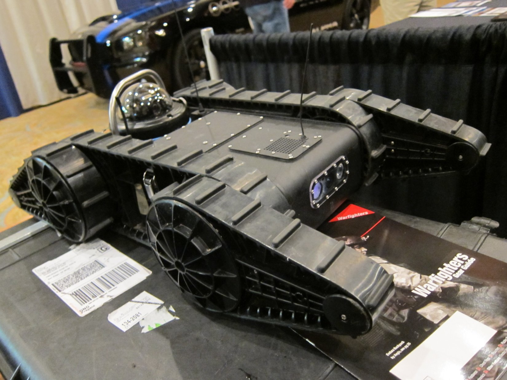 RoboteX AVATAR II Micro Tactical Robot/UGV: Ultra-Agile, Waterproof Mini Tactical Recon Bot for Military Urban Warfare and Law Enforcement SWAT Ops (Video!)