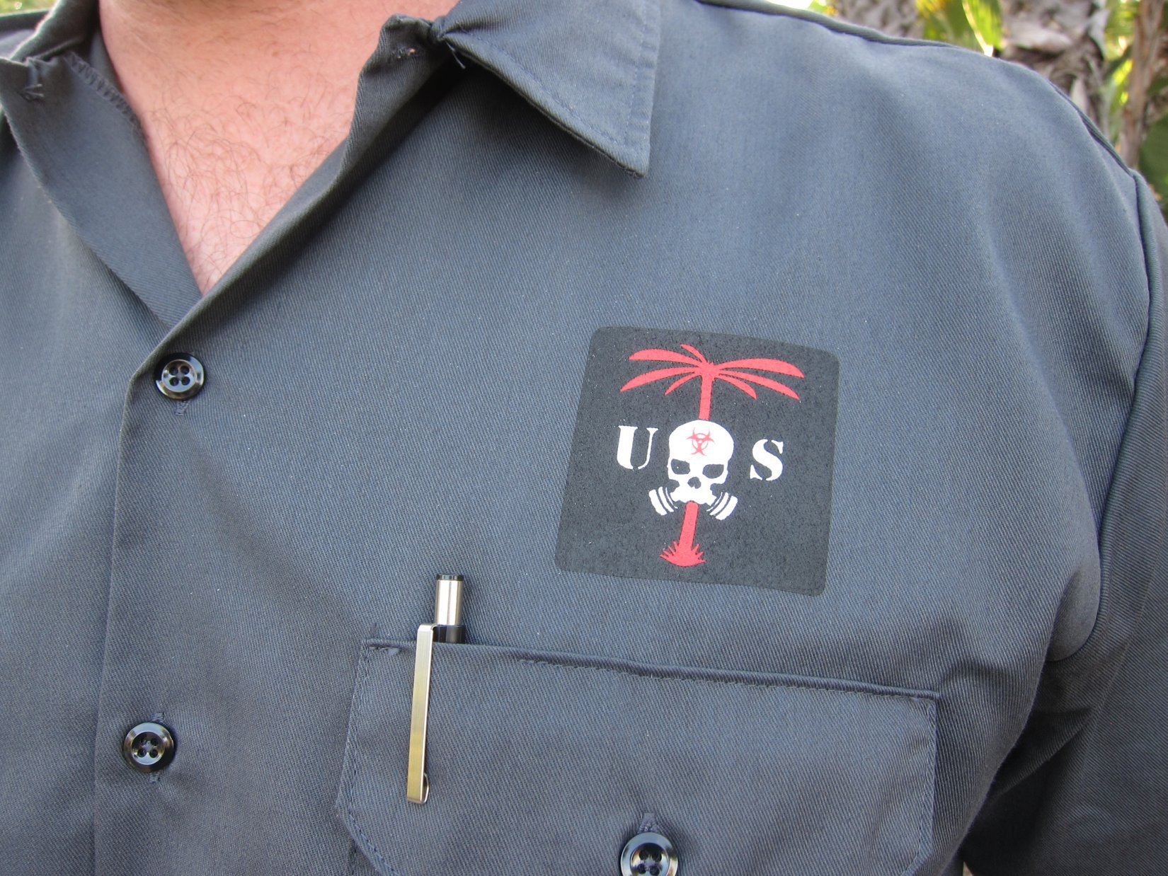 US Palm ZERT Team Logo Shirt HALO Counterterrorism Summit 2012 DefenseReview.com DR 1 US Palm Draco Hardened Backpack (HBP Tactical Pack)/Multi Platform Attack Rack (MPAR) Tactical Armor Plate Carrier (Body Armor) System with Enhanced Harness System (EHS) Collar: Meet the Agile Combat System (ACS) (Video!)