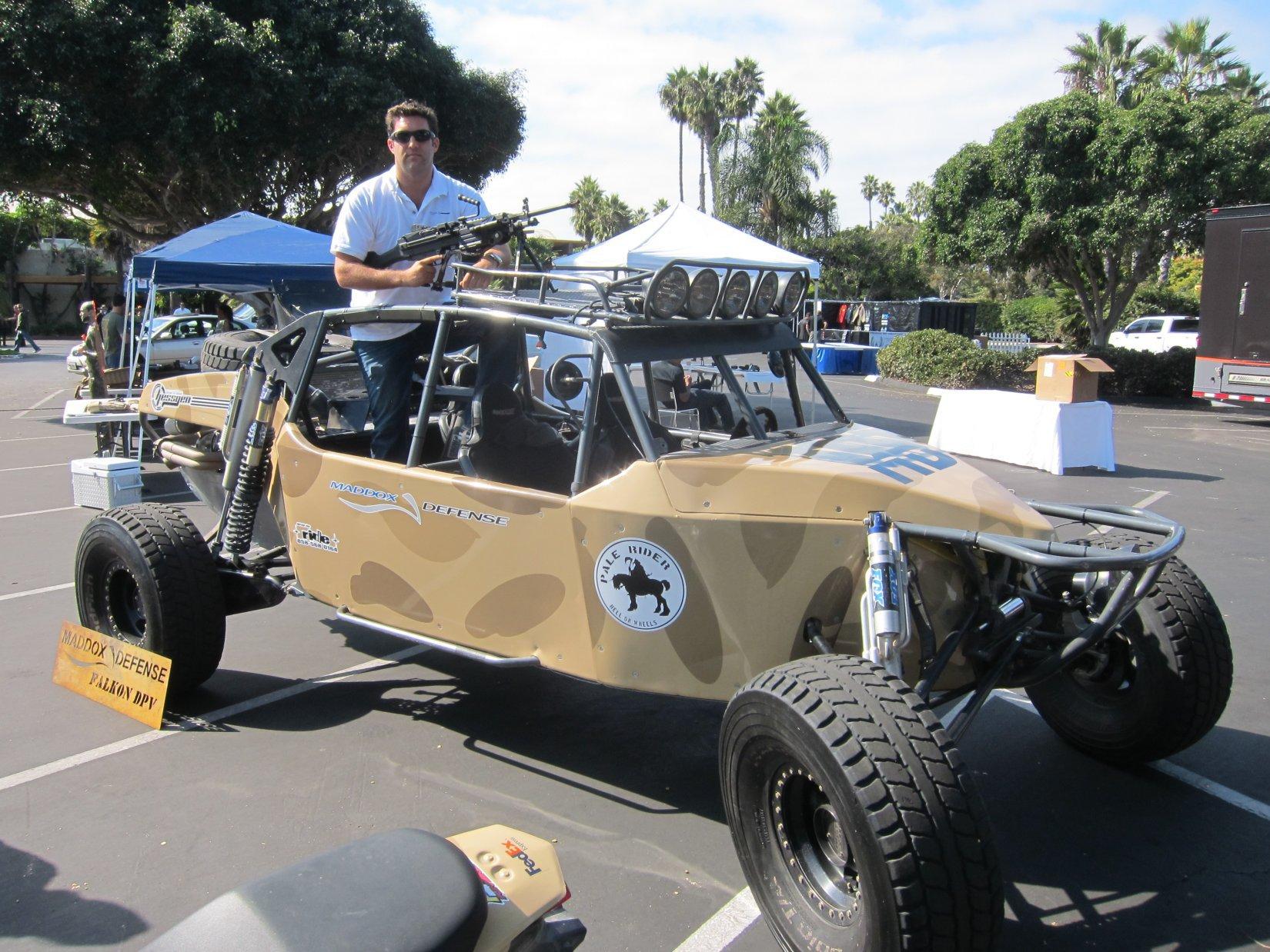 Maddox Defense Md Falkon Dpv Desert Patrol Vehicle