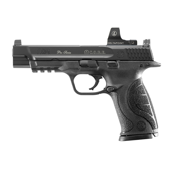 Smith  Wesson SW MP9L Pro Series CORE Competition Optics Ready Equipment 9mm Pistol 1 Smith & Wesson (S&W) M&P Pro CORE (Competition Optics Ready Equipment) Combat/Tactical/Competition Pistols: Good to Go and Ready to Beat Glock Pistols?