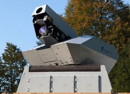 Rheinmetall 50kw High Energy Laser Weapon 2 Rheinmetall 50kW Anti Aircraft/Mortar/Rocket Laser Weapon System: The Future of Air Defense?