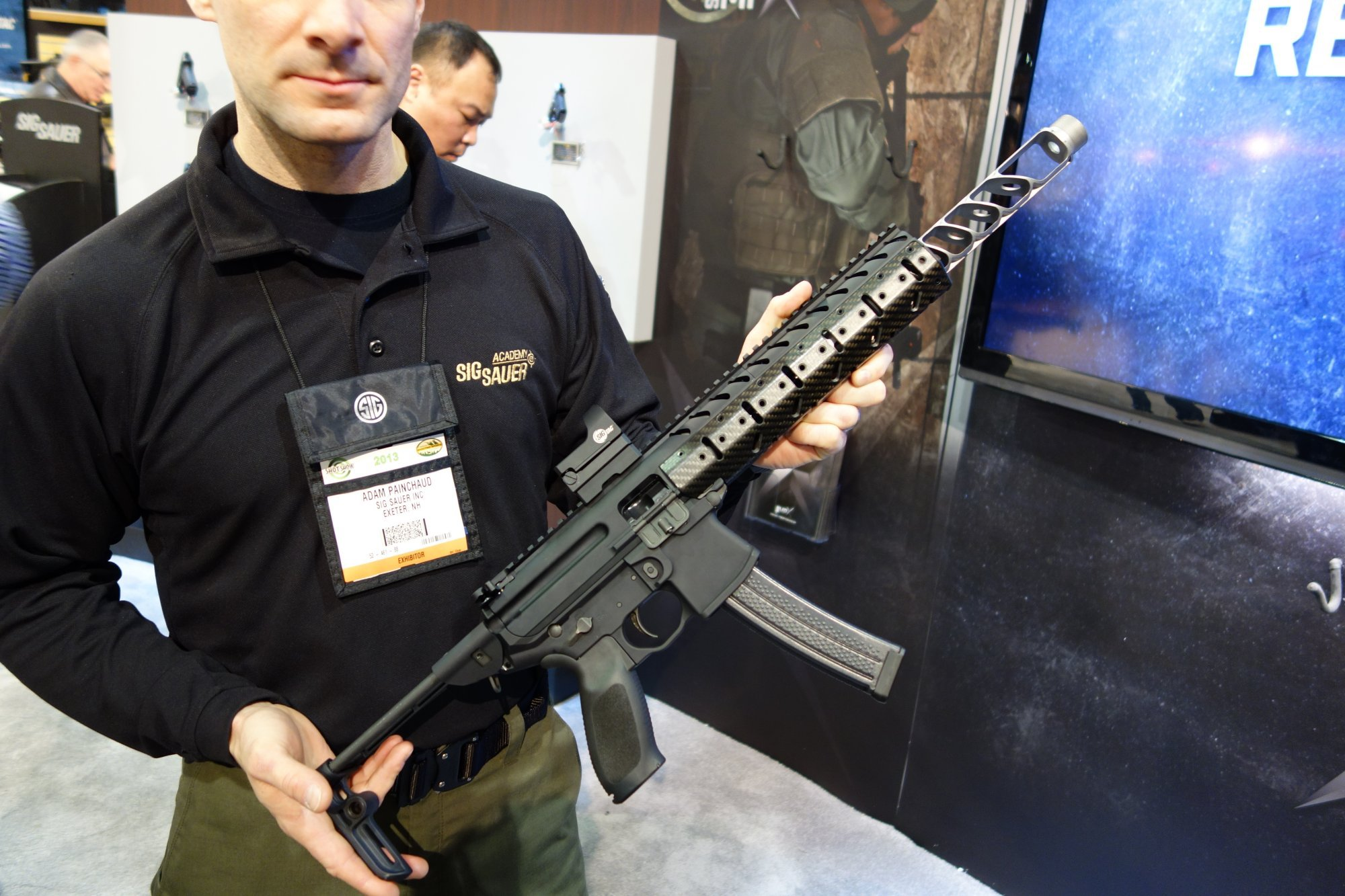 SIG MPX, MPX-C and MPX-K Multi-Caliber Submachine Gun (SMG)/Semi-Auto-Only Carbine/SBR Personal Defense Weapon (PDW) Packages with Silencer/Sound Suppressor, Lancer Systems Translucent Polymer Magazine and SIGTAC Reflex Sight/Combat Optic (Video!)