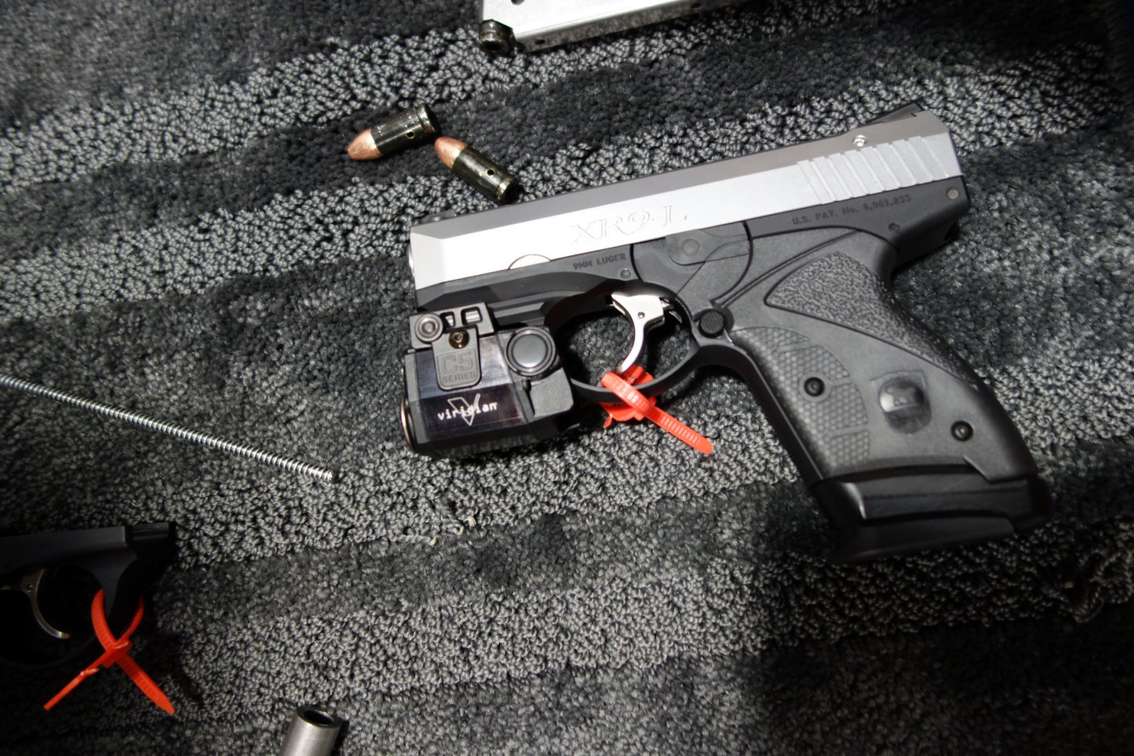 Boberg Arms XR9 L Long Stroke 9mm Sub Compact Semi Auto Pistol with Rotating Barrel SHOT Show 2013 David Crane DefenseReview.com DR 1 Boberg Arms XR9 L Long Stroke, Rotating Barrel Sub Compact Semi Auto 9mm Pistol for Concealed Carry (CCW): Big Gun Ballistic Performance in a Small Package! (Video!)