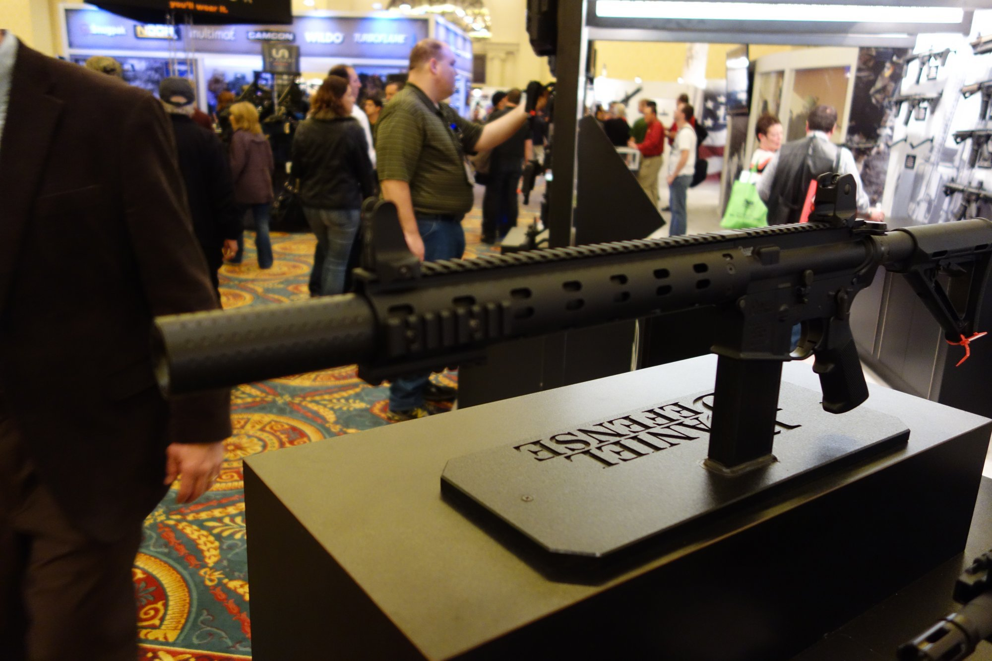 Daniel Defense DD M4 Carbine DDM4v7 ISR 300 Blackout Integrally Suppressed Rifle 10.3 inch Tactical AR 15 Short Barreled Rifle AR SBR SHOT Show 2013 David Crane DefenseReview.com DR 2 Daniel Defense DD M4 Carbine ISR 300 Blackout (Integrally Suppressed Rifle 300BLK): DDM4v7 type 10.3 Barreled Tactical AR 15 Short Barreled Rifle (SBR) (Video!)