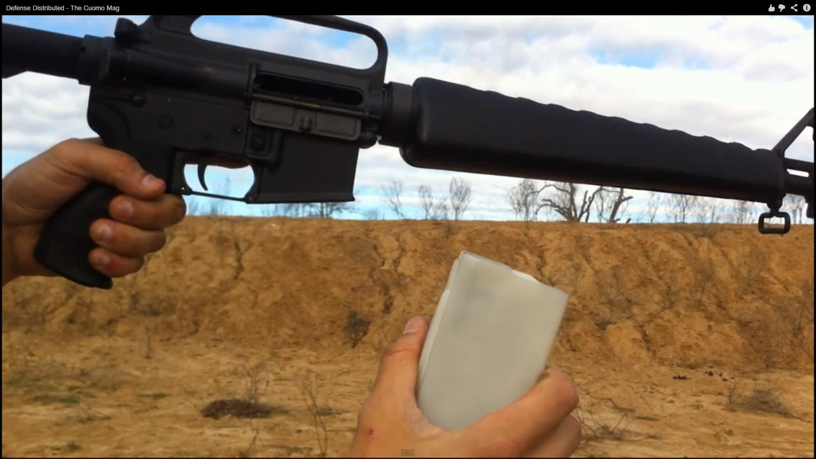 """Defense Distributed (DefDist) Product-Improved 3D-Printed Polymer 30-Round AR-15 Magazine: Meet the """"Cuomo Mag"""", Governor Cuomo"""