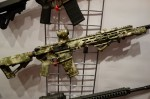Legion_Firearms_LF-4D_Orion_Design_Group_(ODG)_Edition_Lupus_Camouflage_Pattern_Signature_Series_5.56mm_Tactical_AR-15_Carbine_Rifle_with_HEX-Fluted_Barrel_at_SHOT_Show_2013_David_Crane_DefenseReview.com_(DR)_2
