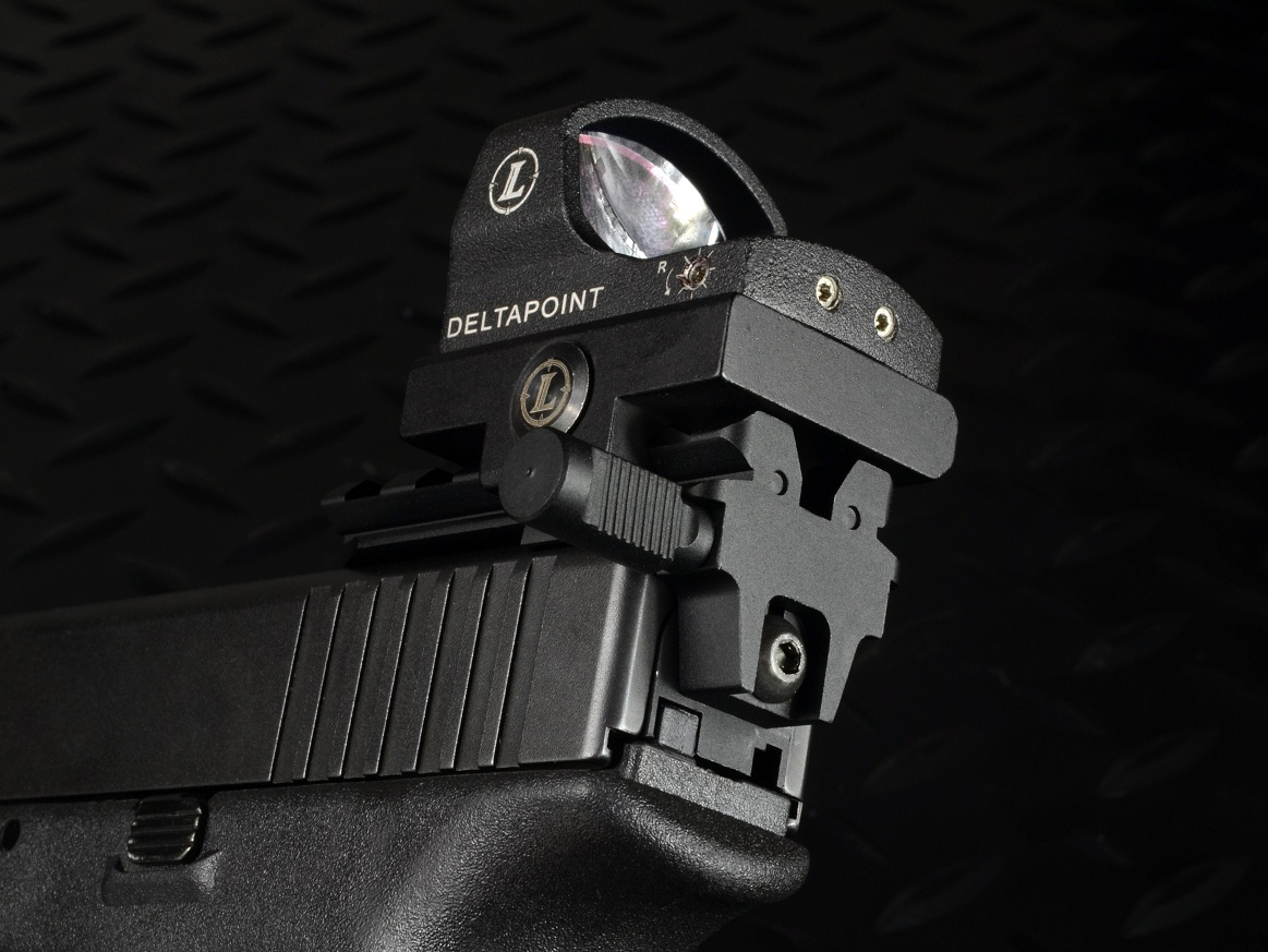 Strike Industries SI Rear Sight Mount for the Glock GSR 3 Strike Industries (SI) Introduces New Glock Pistol Accessories: SI Glock Shock Buffer (GSB), SI Glock Frame Shock Buffer (GFSB), SI Glock Buffalo Wings (GBW) and SI Rear Sight Mount for the Glock (GSR)