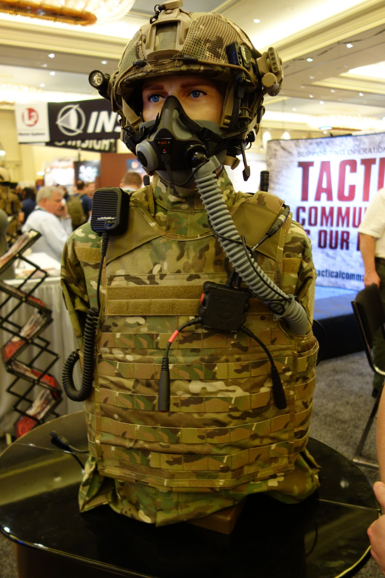 Tactical Command Industries TCI Liberator III ITJCS TACP JTAC Secure Dual Comm Tactical Headset with Integrated Digital Hearing Protection Tactical Communications Tactical Comms SHOT Show 2013 David Crane DefenseReview.com DR 1 Tactical Command Industries TCI Liberator III ITJCS TACP/JTAC Secure Dual Comm Tactical Headset with Integrated Digital Hearing Protection for Military Airborne and Ground Ops (Video!)