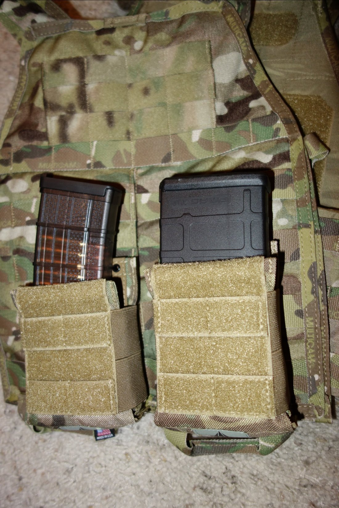 Hard Point Equipment Universal Mag Carrier UMC Universal Magazine Carrier Mag Pouch for Tactical Body Armor Carriers and Battle Belts David Crane DefenseReview.com DR 10 Tired of Tacos? Load Your Tactical Vest (Armor Plate Carrier) with the Hard Point Universal Mag Carrier (UMC): One Modular Magazine Pouch Handles 5.56mm and 7.62mm Rifle Magazines and Pistol Mags
