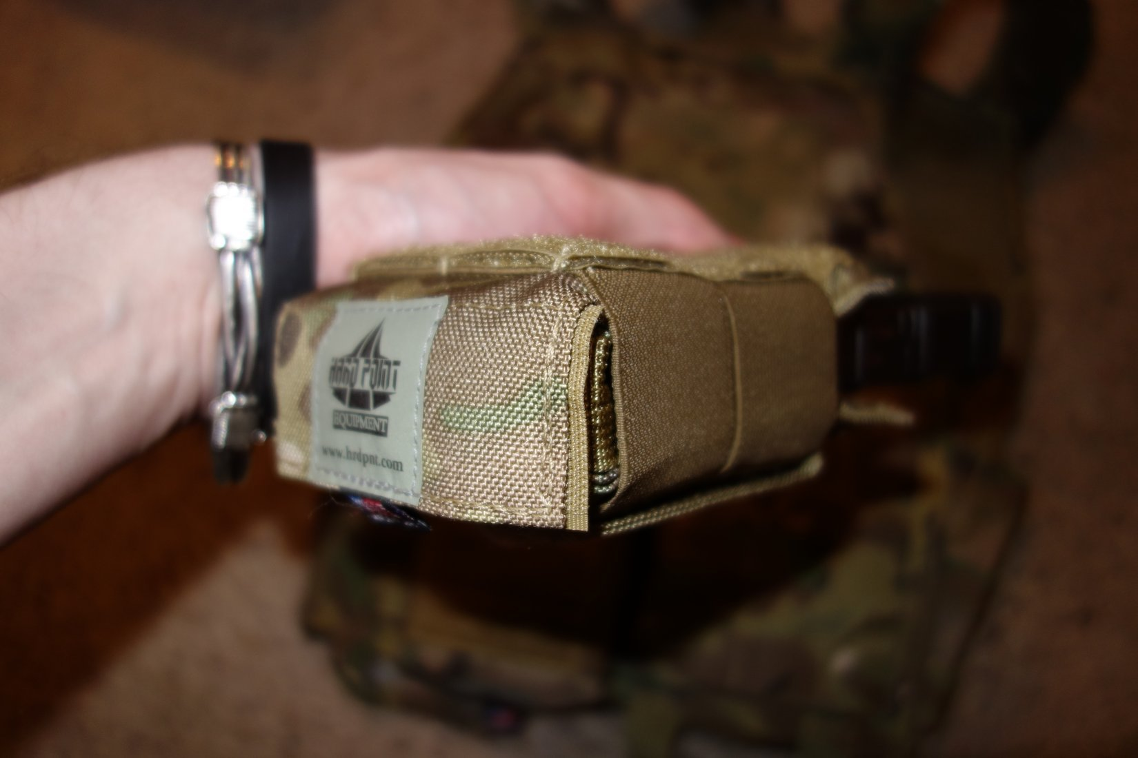 Hard Point Equipment Universal Mag Carrier UMC Universal Magazine Carrier Mag Pouch for Tactical Body Armor Carriers and Battle Belts David Crane DefenseReview.com DR 23 Tired of Tacos? Load Your Tactical Vest (Armor Plate Carrier) with the Hard Point Universal Mag Carrier (UMC): One Modular Magazine Pouch Handles 5.56mm and 7.62mm Rifle Magazines and Pistol Mags