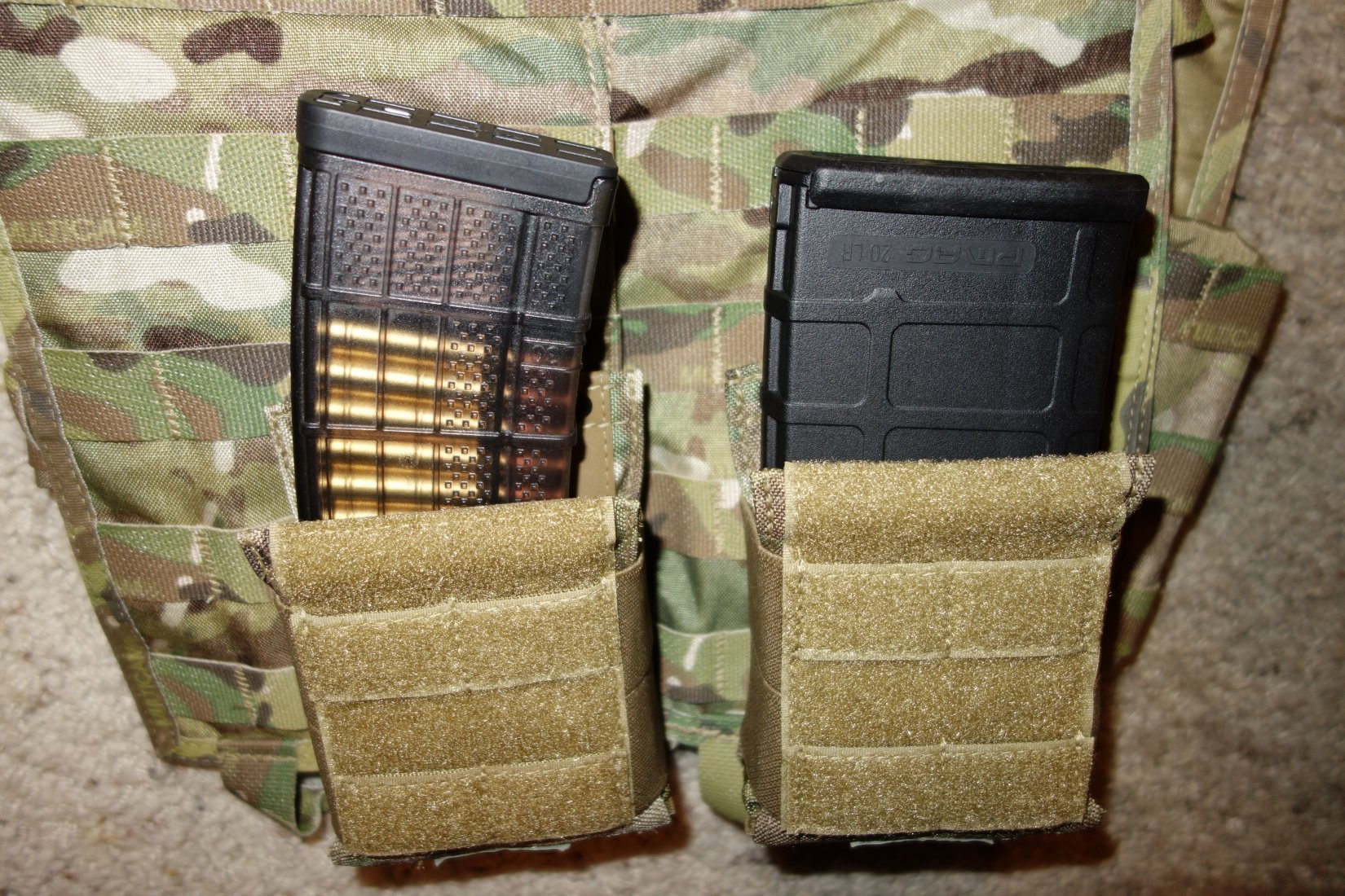 Hard Point Equipment Universal Mag Carrier UMC Universal Magazine Carrier Mag Pouch for Tactical Body Armor Carriers and Battle Belts David Crane DefenseReview.com DR 8 Tired of Tacos? Load Your Tactical Vest (Armor Plate Carrier) with the Hard Point Universal Mag Carrier (UMC): One Modular Magazine Pouch Handles 5.56mm and 7.62mm Rifle Magazines and Pistol Mags