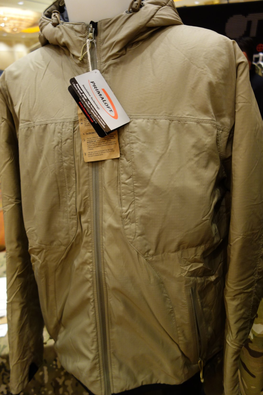 Otte Gear (OG) Helo Jacket: Collapsible and Reversable Lightweight Synthetic-Fill Insulated Combat/Tactical Jacket with Primaloft Sport (Video!)