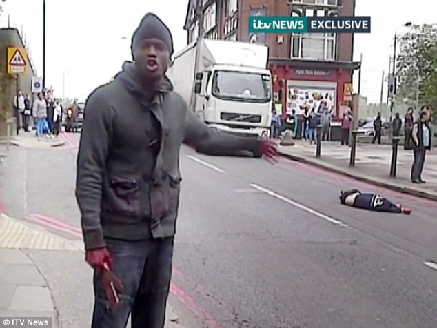 London Terrorist Attack Alleged Terrorist Killer Murderer Michael Adebolajo ITV News London 1 Screw Politics and Theories. This is Personal: An Argument for an Armed Citizenry and Concealed Carry (CCW) of Defensive/Tactical Pistols