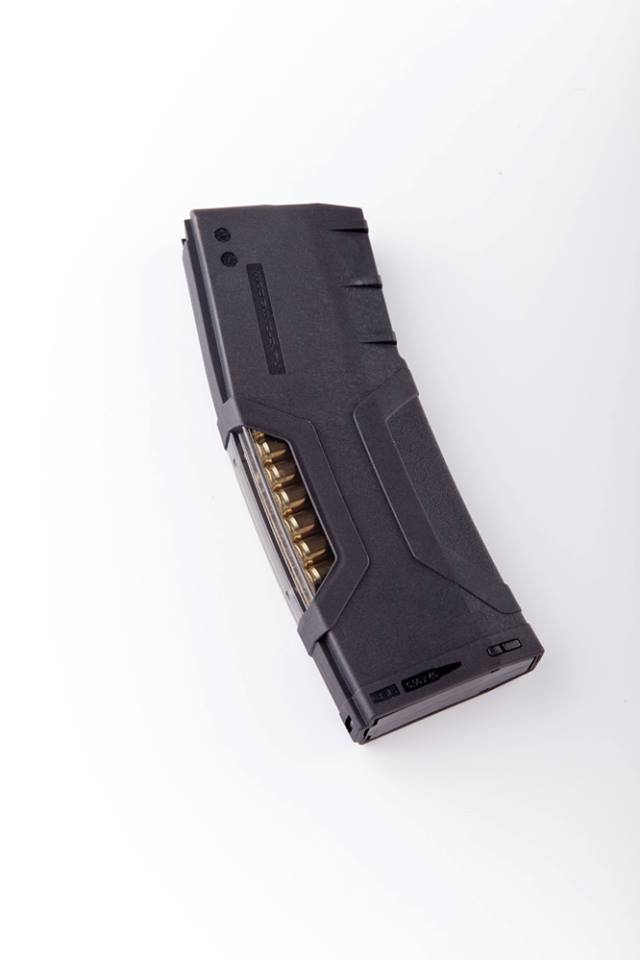 HERA Arms H3MAG 5.56mm .223 Rem. Polymer Rifle Magazine with Window 5 HERA Arms H3MAG 5.56mm/.223 Rem. 30 Round Polymer Rifle Magazine with Round Count Viewing Window for the Tactical AR 15 Carbine
