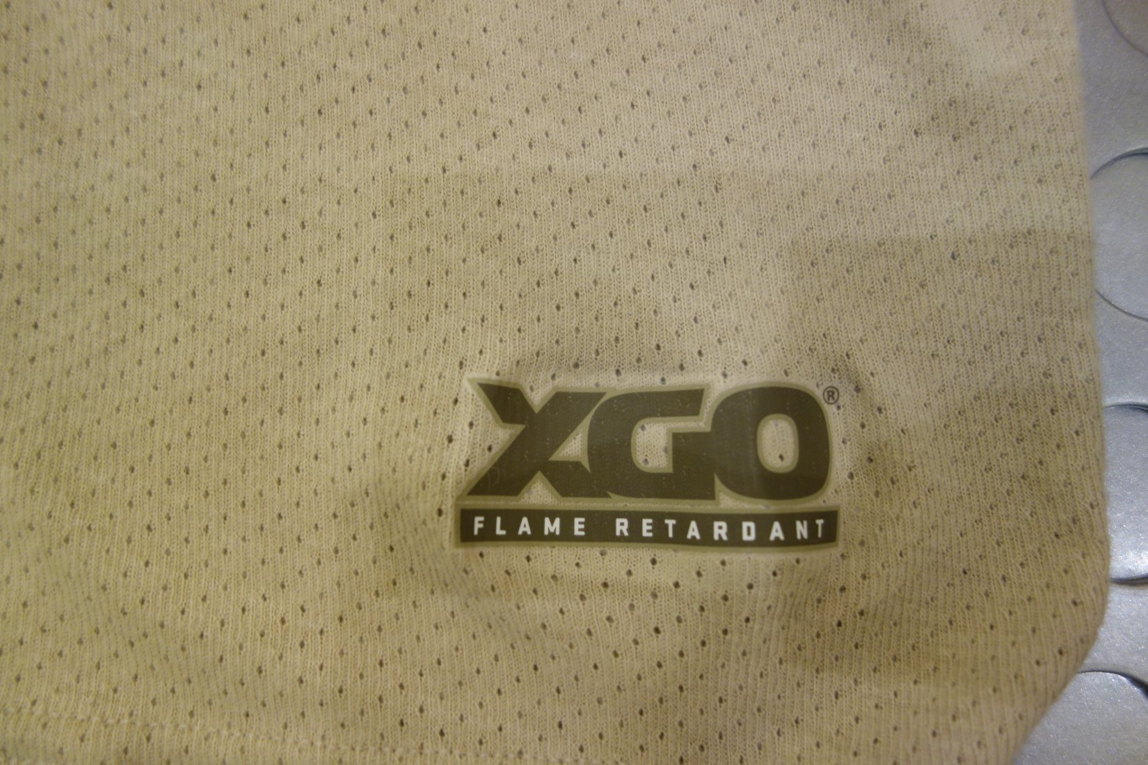 XGO FR Flame Retardant Fire Retardant Mesh Moisture Wicking Fabric Combat Tactical T Shirt with Antimicrobial Silver Fibers Sherry Lyons SHOT Show 2013 David Crane DefenseReview.com DR 2 XGO Combat/Tactical T Shirt and Underwear with FR (Flame Retardant/Fire Retardant) Moisture Wicking Mesh Fabric and Antimicrobial Silver Fibers: Super Comfortable, Stretchable and Breathable! (Video!)