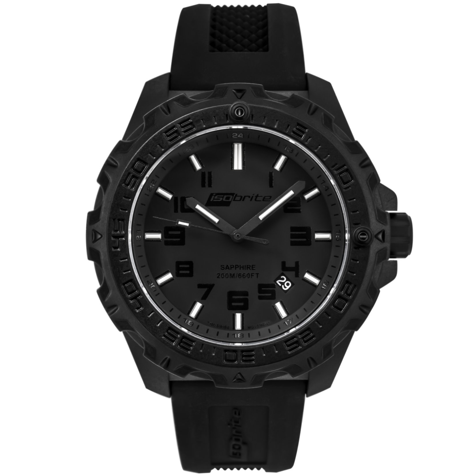 ArmourLite IsoBrite Eclipse T100 Tritium Illuminated Lightweight Polycarbon Watch 1 small All New Isobrite Eclipse T100 Tritium Illuminated Lightweight Polycarbon Tactical Watch Expands ArmourLites Commitment to Making the Brightest and Most Durable Watches