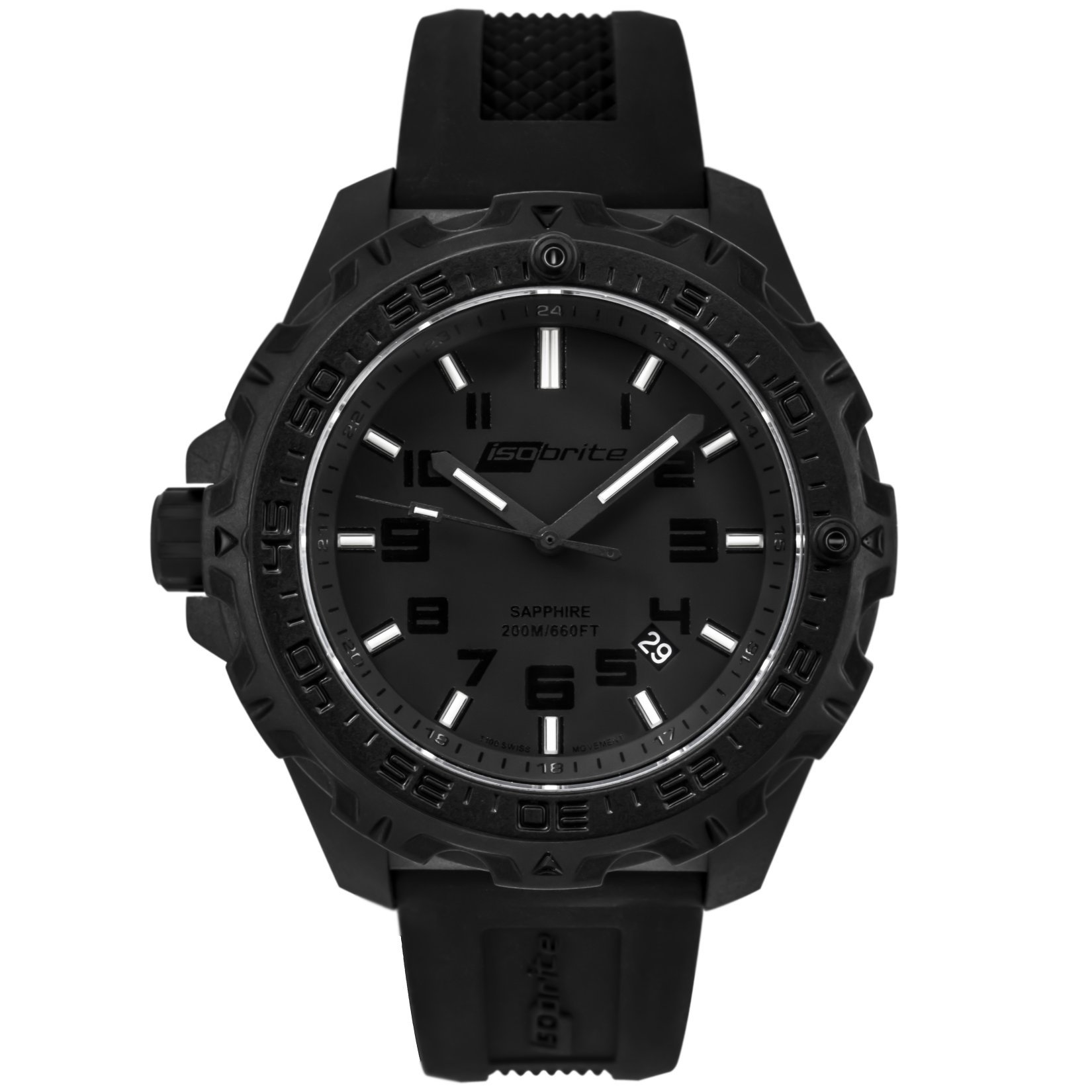 ArmourLite IsoBrite Eclipse T100 Tritium Illuminated Lightweight Polycarbon Watch 2 small All New Isobrite Eclipse T100 Tritium Illuminated Lightweight Polycarbon Tactical Watch Expands ArmourLites Commitment to Making the Brightest and Most Durable Watches