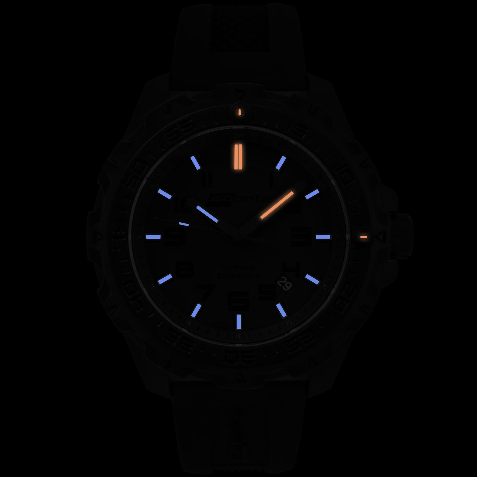 ArmourLite IsoBrite Eclipse T100 Tritium Illuminated Lightweight Polycarbon Watch 3 small All New Isobrite Eclipse T100 Tritium Illuminated Lightweight Polycarbon Tactical Watch Expands ArmourLites Commitment to Making the Brightest and Most Durable Watches