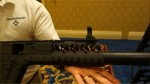 Diamondhead_V-RS_Drop-In_Slide-On_Lightweight_Tactical_Handguard_Rail_System_with_Diamondhead_Integrated_Sighting_System_for_KRISS_Vector_CRB_.45 ACP_Tactical_Carbine_John_DeLuca_SHOT_Show_2013_David_Crane_DefenseReview.com_(DR)_4