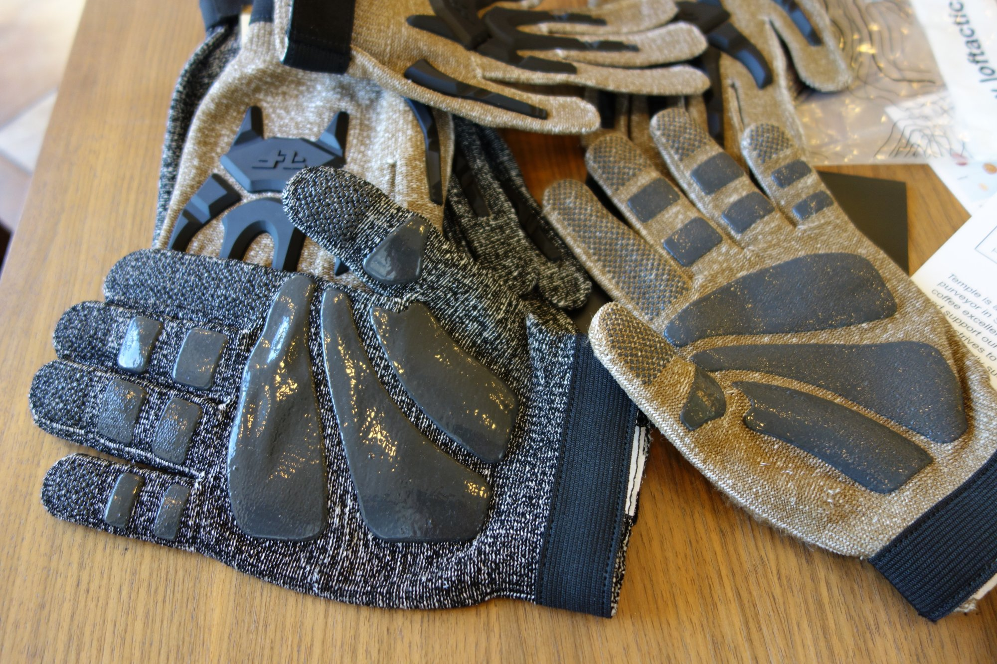 Line of Fire LOF Phantom Dyneema Cut Resistant Tactical Glove with Hard Knuckles and Silicone Print Gripping Material Tactical Gloves Combat Gloves Brian Miller Temple Coffee 8 16 13 David Crane DefenseReview.com DR 7 Line of Fire LOF Phantom Combat/Tactical Glove: Seamless Dyneema Cut Resistant Combat/Tactical Shooting Gloves with Hard Knuckles and Fingers and Silicone Gripping Material (Video!)