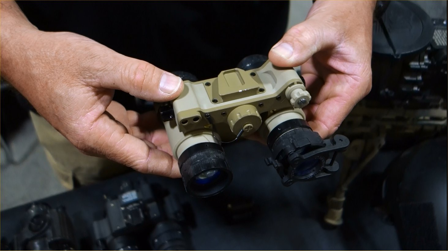 Adams Industries (AI)/Tactical Night Vision Company TNVC Sentinel Night Vision Goggle (NVG)/Imaging System: Up-Armored AN/AVS-6/9 (ANVIS 6/9) NVG for Military Special Operations Forces (SOF) (Video!)