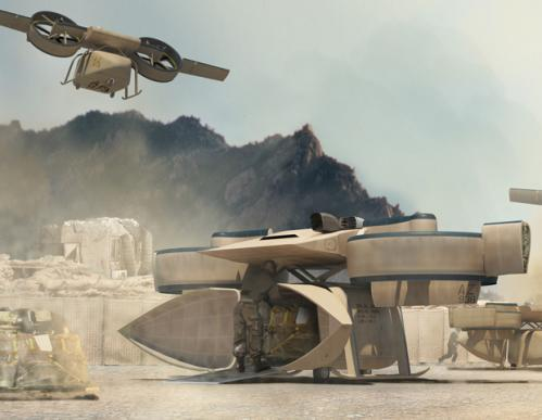 Lockheed Martin Piasecki Aircraft Transformer TX Lightweight Airborne Flying Combat Tactical Vehicle Lockheed Martin 2 DARPA/Lockheed Martin/Piasecki Aircraft Transformer TX Lightweight Airborne/Flying Tactical Fighting Vehicle: U.S. Military Combat/Warfare Meets The Jetsons