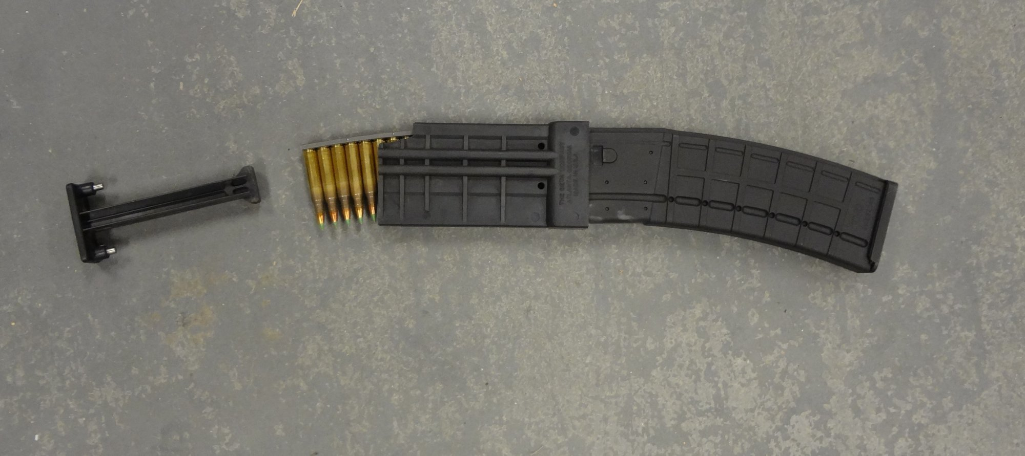 MWG IK 520 40 Round Steel Reinforced Polymer AR 15 Magazine 5.56mm Mag with C MAG Speed Loader Jeff Gurwitch 1 small MWG IK 520 40 Rounder 40 Round Steel Reinforced Polymer AR 15 Rifle Magazine (5.56mm/.223 Rem.) Lookin Good: Initial DR Range Report!