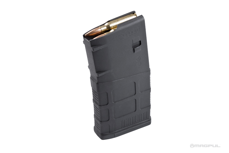 MagPul PMAG 20 LR SR GEN M3 7.62x51 Magazine 2 MagPul PMAG 20 LR/SR GEN M3, 7.62x51 SR 25 Format 7.62mm NATO/.308 Win. Rifle Magazine Introduced, Replaces MAG243