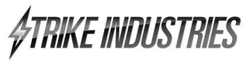 Strike Industries Logo image 1 Strike Industries AR Mega Fins KeyMod Tactical Handguard/Rail System with Rail Accessories for Tactical AR 15 Carbine/Rifles!