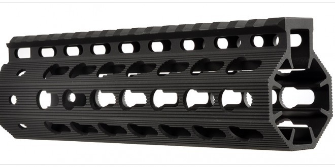 Strike Industries AR Mega Fins KeyMod Tactical Handguard/Rail System with Rail Accessories for Tactical AR-15 Carbine/Rifles!