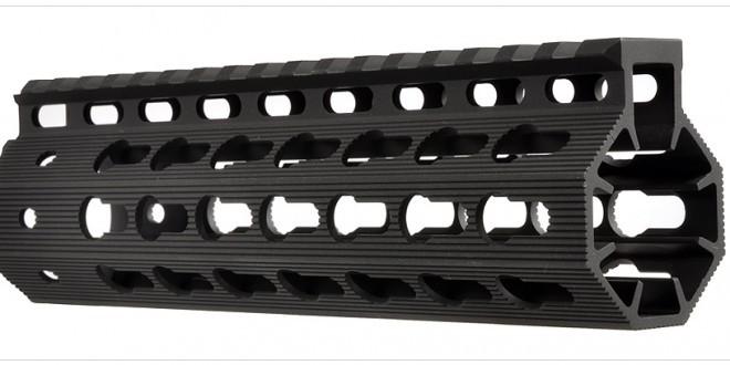 Strike Industries AR Mega Fins KeyMod Tactical Handguard/Rail System with Rail Accessories for Tactical AR-15 Carbine/Rifles!