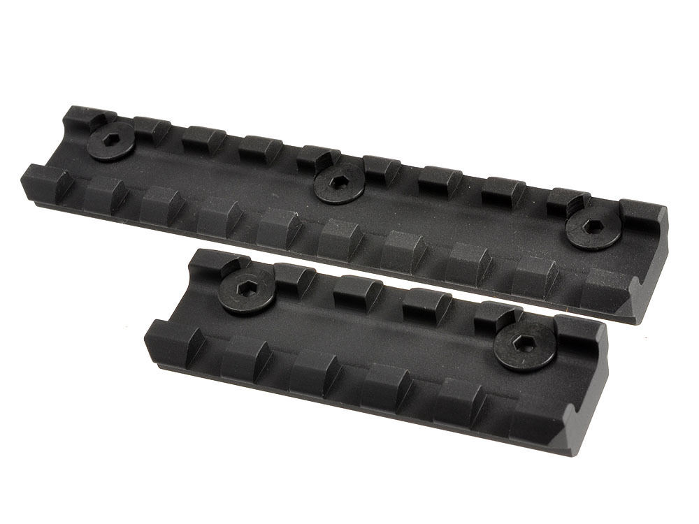 Strike Industries Mega Fins Tactical Handguard Rail  System and KeyMod Rail Section image 2b Strike Industries AR Mega Fins KeyMod Tactical Handguard/Rail System with Rail Accessories for Tactical AR 15 Carbine/Rifles!