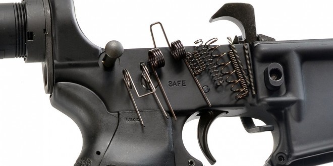 Strike Industries AR-15 Lower Receiver Spring Replacement Kit for Optimizing your AR-15 Rifle/Carbine/SBR's Performance! (Photos!)