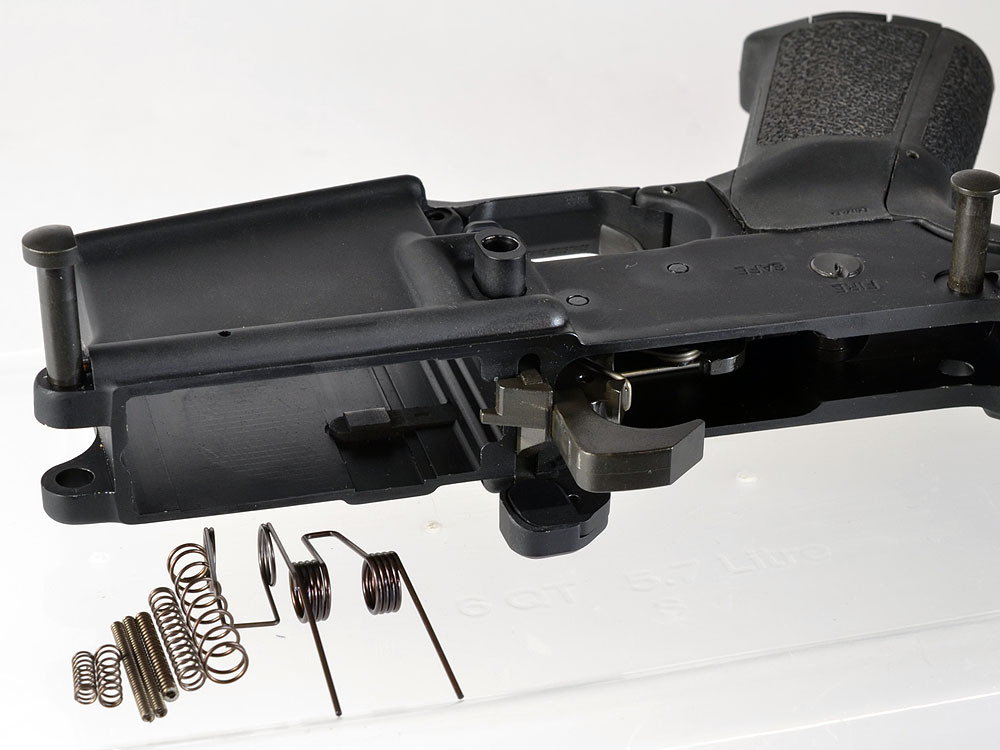 Strike Industries SI AR 15 Carbine Lower Receiver Spring Kit 4 Strike Industries AR 15 Lower Receiver Spring Replacement Kit for Optimizing your AR 15 Rifle/Carbine/SBRs Performance! (Photos!)