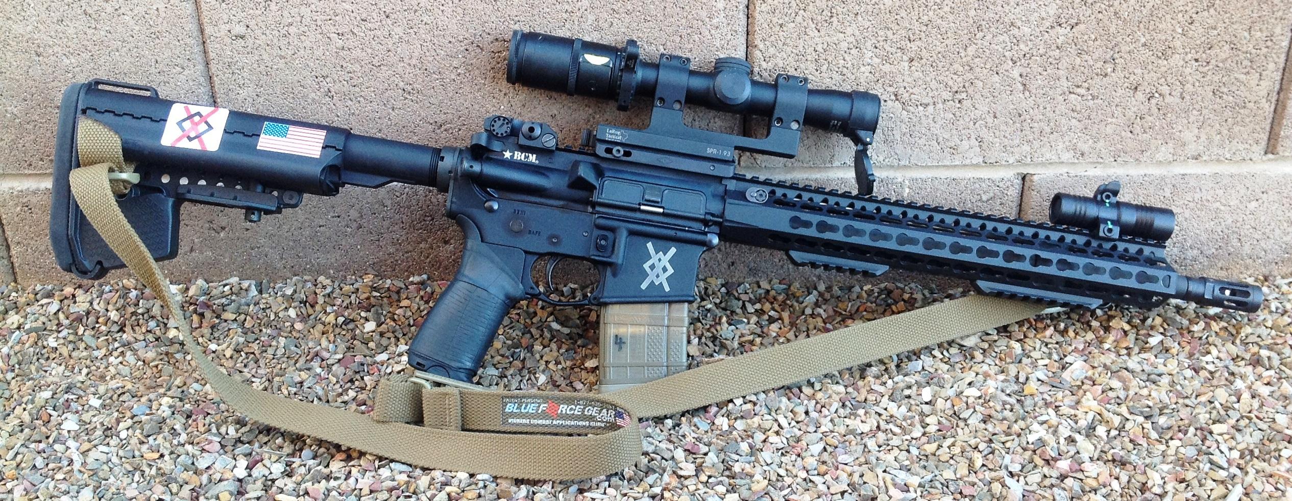 Rosch Works Rw Sl1 Sight Light Integrated Weapon Light