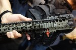 War_Sport_Industries_LVOA-C_Low_Visibility_Operations_Application)_Tactical_AR-15_Carbine_Rail_System_with_Aimpoint_Micro_T-1_Red_Dot_Sight_Combat_Optic_MagPul_Industries_Booth_SHOT_Show_2013_David_Crane_DefenseReview.com_(DR)_3