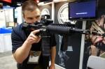 LWRCI_SIX8_M6.8-UCIW_(Ultra-Compact Individual Weapon)_6.8_SPC_(6.8x43mm_SPC)_Ambidextrous_Tactical_Piston_AR-15_SBR_Sub-Carbine_PDW_Matthew_Lufkin_SOFIC_2013_David_Crane_DefenseReview.com_(DR)_7